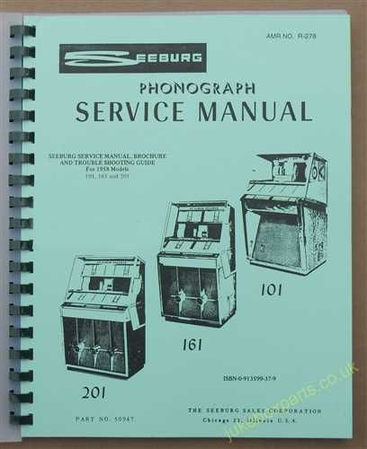 Seeburg 101, 161 & 201 Manual