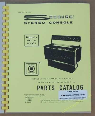 Seeburg FC1 & EFC1 Regency Manual (1973-74)