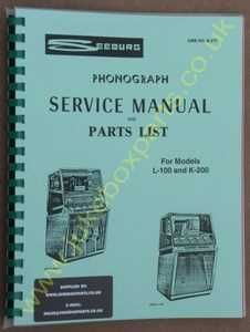 Seeburg KS200, KD200 & L100 Manual