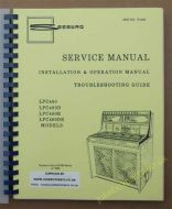 Seeburg LPC 480, 480D, 480R, 480DR Manual
