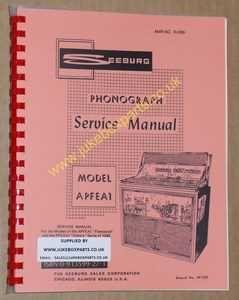 Seeburg APFEAI Fleetwood & PFEAIU Electra Manual (1966)
