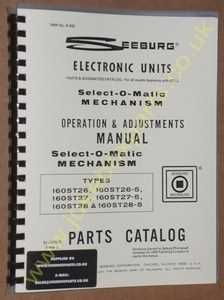 Seeburg Select-O-Matic Manual