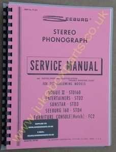 Seeburg STD160, STD2, STD3, STD4 & FC2 Service Manual