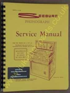 Seeburg S100, S100-5, S100-H5 Manual  (1967-68)