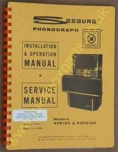 Seeburg SPS160, ESPS160 Olympian Service Manual