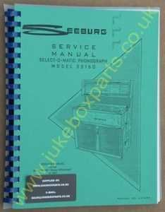 Seeburg SS160 Stereo Showcase Manual