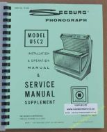 Seeburg USC2 Firestar Bandshell Manual (1971-72)