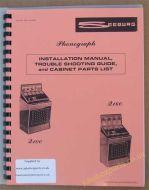 Seeburg Q100 & Q160 Installation Manual, Troubleshooting Guide & Parts List
