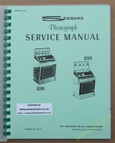 Seeburg Q100 & Q160 Manual (1960)