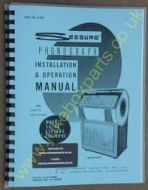 Seeburg SX100, ESX100-5, ESX100-H5 Installation & Operation Manual & Parts