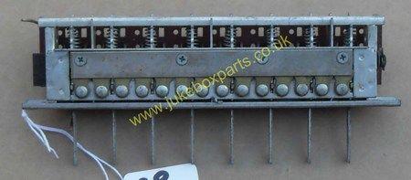 Seeburg Button Bank Model Unknown (SB212)