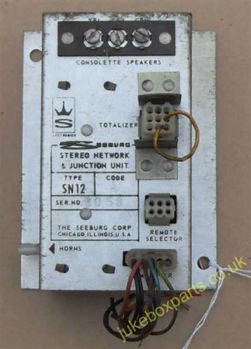 Seeburg Stereo Network & Junction Unit Type SN12 (SB24)