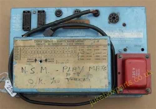 Seeburg Remote Control Stepper Unit Type RCSU5-H5 (SB258)