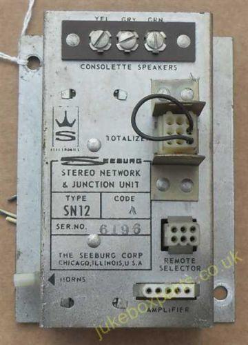 Seeburg Stereo Network & Junction Unit Type SN12 (SB66)