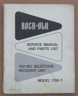 Rowe Ami JAL & JEL Service Manual (USM02)