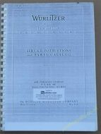 Wurlitzer 1500 & 1550 Service & Parts Manual (USM107)