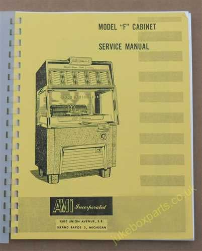 AMI Model F Service & Parts Manual (USM15)