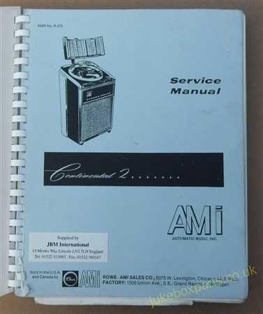 Seeburg Trouble Shooting Charts for Models Q100 & Q160 (USM198)