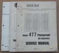 Rock-Ola Model 1493 Large Fold Out Schematic Diagram (USM201)