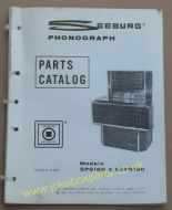 Seeburg Parts Catalog Models SPS160 & ESPS160 (USM205)