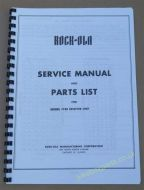 Rock-Ola Model 1738 Receiver Unit Service Manual & Parts List (USM22)