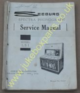 Seeburg LS1 Service Manual & Installation & Operation Manual (USM23)