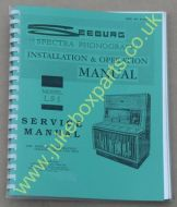 Seeburg LS1 Service Manual & Installation & Operation Manual (USM24)