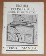 Rock-Ola 464 Original Service Manual (USM259)