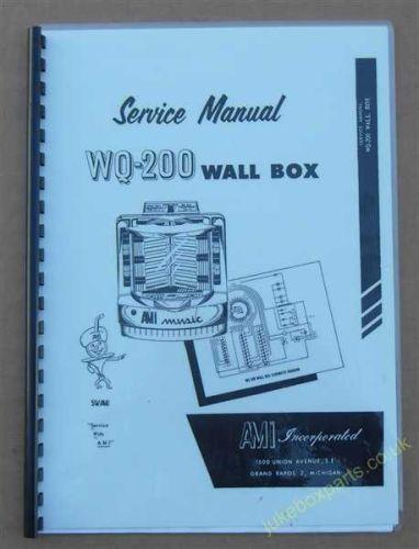 Ami WQ-200 Wall Box Service Manual (USM27)