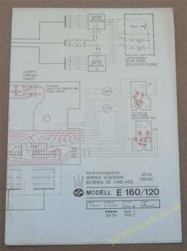 NSM E160/120 Wiring Diagram (USM278)