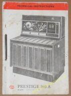 NSM Prestige 160A Technical Instructions Manual (USM301A)