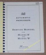 AMI Models A & B Service & Parts Manual (USM326)