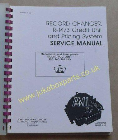 AMI Record Changer R-1473 Credit Unit & Pricing System Model K (USM369)