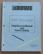 Rowe Ami R-88 Golden 8, Sapphire 8 Service & Parts Manual (1984) (USM379)