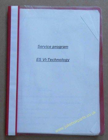 NSM ES VI - Technology Service Program Manual (USM387)