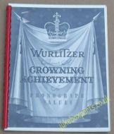 Wurlitzer - 1400 & 1450 Brochure (USM420)