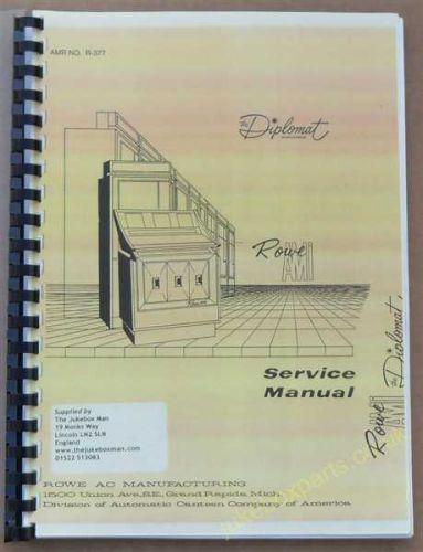 Rowe Ami N Series Diplomat/ O Series Bandshell Service Manual (USM43)