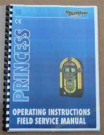 Wurlitzer Princess Operating Instructions, Field Service Manual (USM46)
