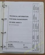 Technical Information for NSMPhonograph CD Hide Away IIES V CDTechnology (USM51)