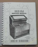 Rock-Ola 448, 449 Service Manual & Schematic (USM53)