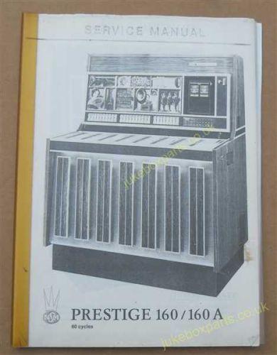 Seeburg Select-O-Matic Operation &Adjustment Manual & Parts Catalogue (USM67)