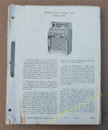 Wurlitzer Lyric Service Manual 1962 - 1969 (USM88)