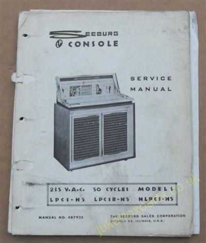 Seeburg LPC1 & LPC1R Service Manual & Parts List (USM94)