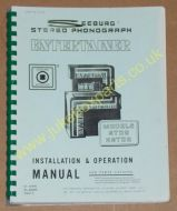 Seeburg STD2 & ESTD2 Installation & Operation Manual & Parts Catalogue (USM97)