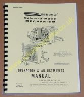 Seeburg Select-O-Matic Mechanism types 145ST14 & 145ST14-5 Operation & Adjustment Manual & Parts Catalogue (USM98)