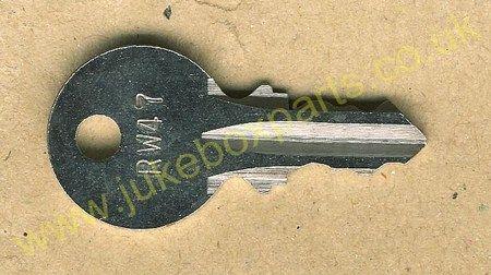 Wurlitzer RW47 Key