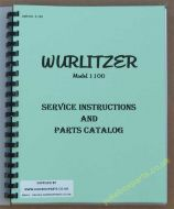 Wurlitzer 1100 Service & Parts Manual