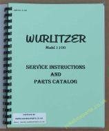 Wurlitzer 1100 Service & Parts Manual