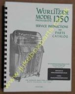 Wurlitzer 1250 Service & Parts Manual
