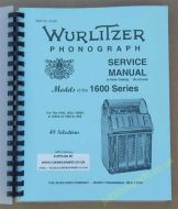 Wurlitzer 1600, 1650, 1600A & 1650A Service & Parts Manual